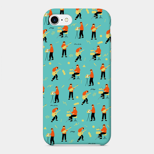 【play music】 phone case (iPhone / android)