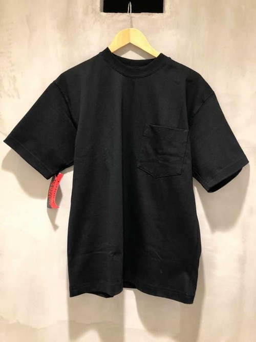 CAMBER - MAX-WEIGHT POCKET S/S TEE - black