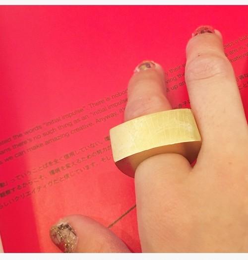 【sangai】plating gold