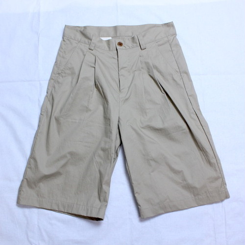 "【30% OFF】weac.(ウィーク) ""JACKY SHORTS"" BEIGE"