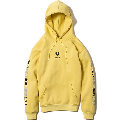 【Deviluse | デビルユース】Heartaches Pullover Hooded(Yellow)