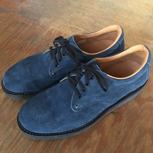 REPLANT Oil Suede Postman Shoes (RTA16-002SC)