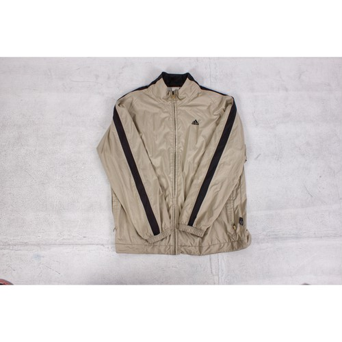 old adidas nylon jacket