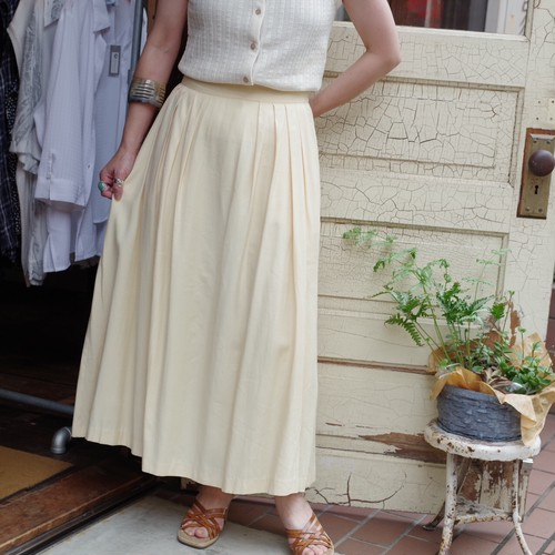Egg color Gather Skirt / ギャザー スカート