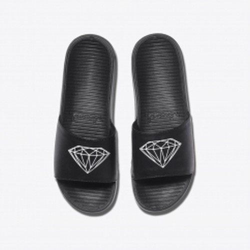 Diamond SUPPLY CO. FAIRFAX SLIDE BLACK