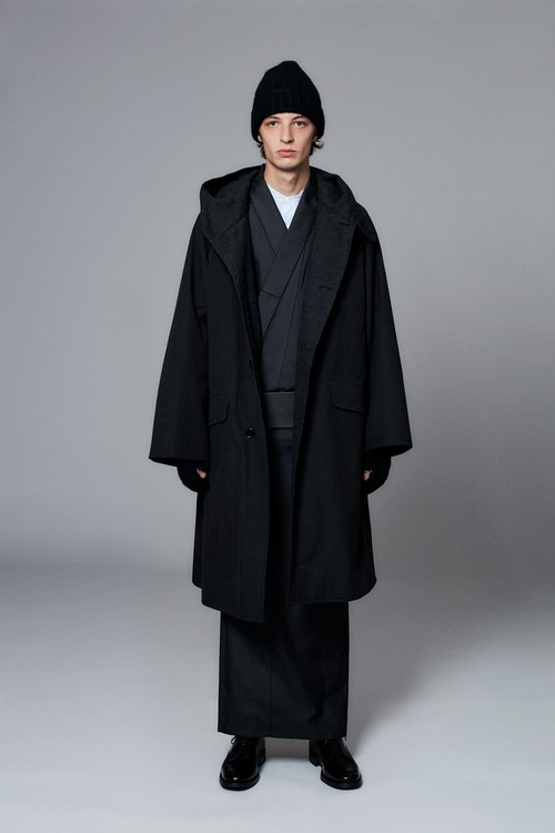 きもの / 十日町紬 / 菱型 / Black(With tailoring)