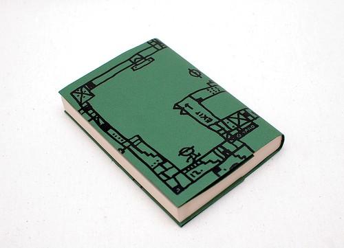 紙のブックカバー03