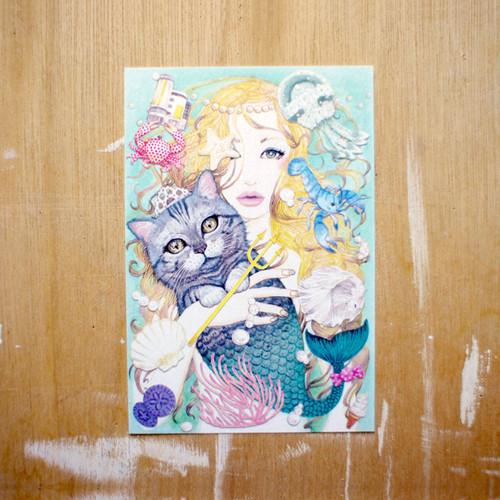 ポストカード200「原宿マーメイド」 pc-200 07