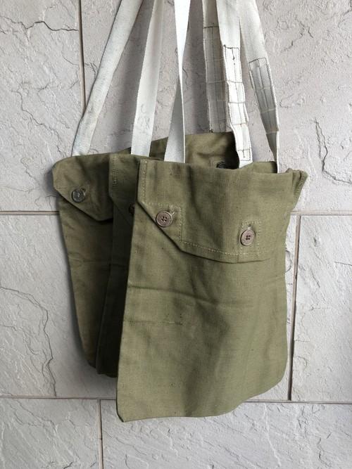 Deadstock 1940s British military cotton bag