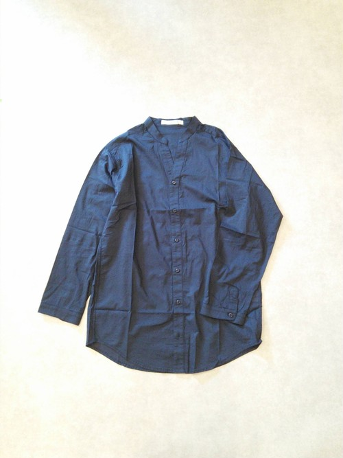 21710S  シアー・スキッパーシャツ/ネイビー