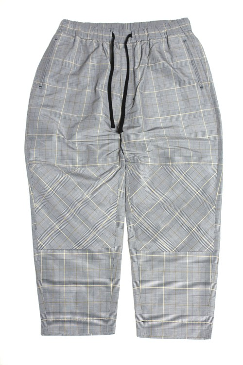 Calf-length Bias Pants -gray check <LSD-BA1P1>