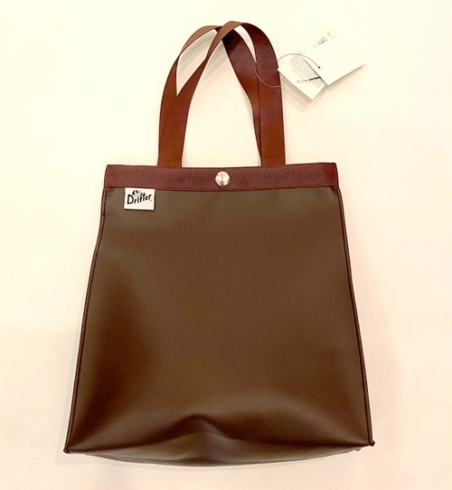 Paper Bag Tote S Dark Brown
