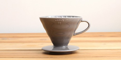 "ILCANA Ceramic Dripper 02 ""DARK GREY"""