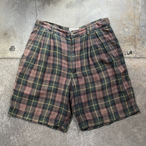 90s BANANA REPUBLIC Check Shorts