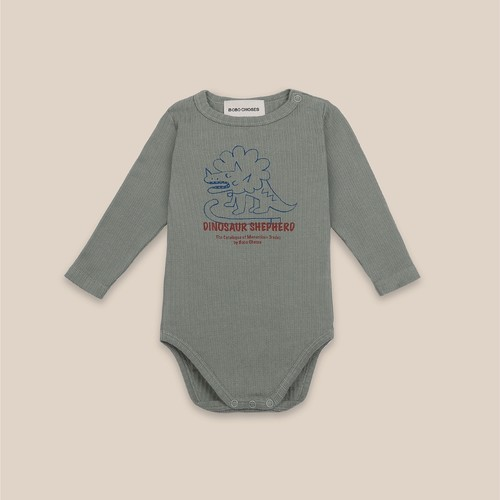 《BOBO CHOSES 2020AW》Dino long sleeve Body / 6-12M