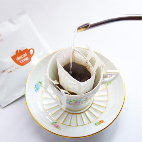 <送料無料>デカフェ・カフェインレス 本格ドリップコーヒー18袋