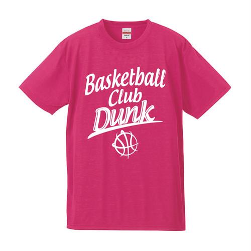 DUNKオリジナルデザインTシャツ〜ピンク×ホワイト〜