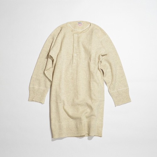 Used☆ Pilgrim Wool Cotton Under Shirts(Henley Neck)