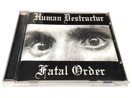 [USED] Human Destructur - Fatal Order (2000) [CD]