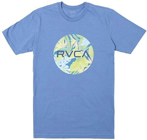 RVCA ルーカ グラフィックプリント半袖Tシャツ MOTORS SS M TEES NBL 8468000 [並行輸入]