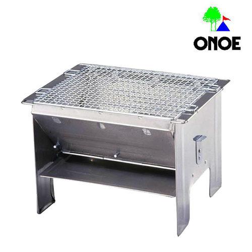 尾上製作所 (ONOE) フォールディングBBQコンロ バーベキュー 折り畳み 折りたたみ アウトドア 用品 キャンプ グッズ レジャー 炭 木炭 焚火 調理 料理 オーブン グリル F-2527