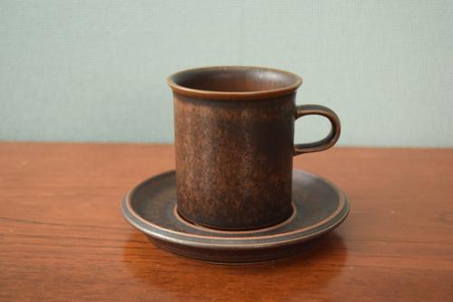 アラビアルスカコーヒーカップ&ソーサー【ARABIA/Ruska】北欧 食器・雑貨 ヴィンテージ | ALKU