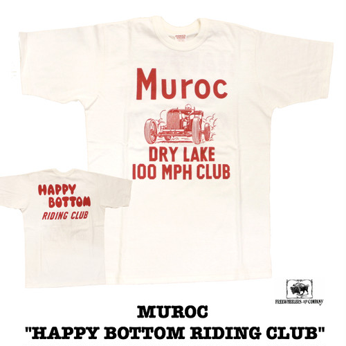 "FREEWHEELERS/POWER WEAR MUROC ""HAPPY BOTTOM RIDING CLUB"""