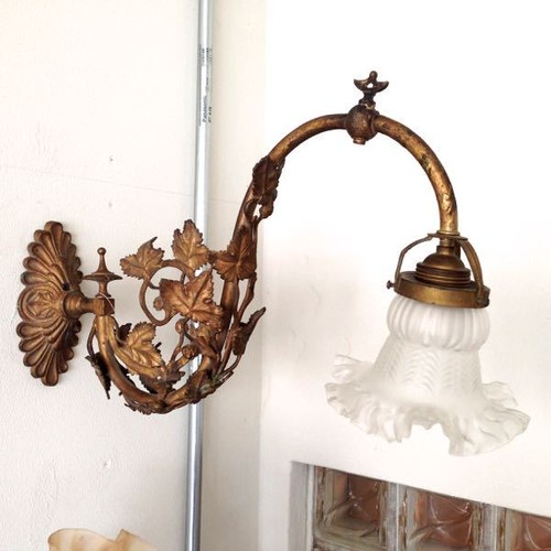 Antique Italian Liberty(Art Nouveau) Wall Lamp