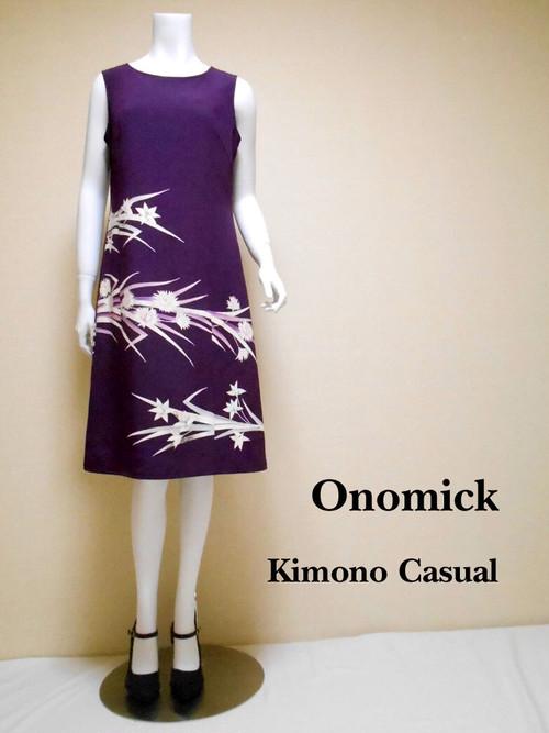 大人かっこいいワンピース Kimono Dress LO-202/S