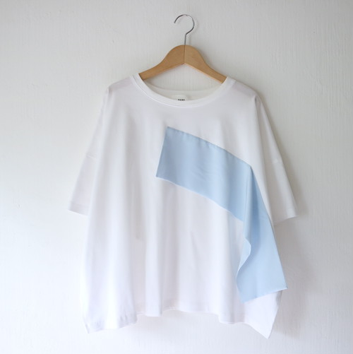 FLOW Tシャツ・サックス