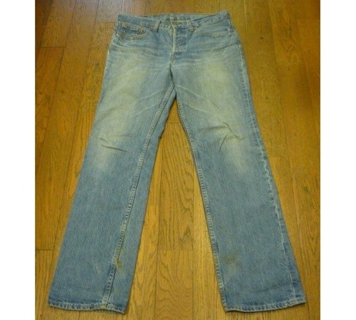 【送料無料】古着のLevi's W501-01 (31) ボタンフライ レディースジーンズ
