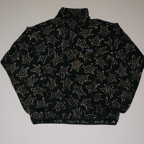 """patagonia 1990's Synchilla Snap-T Pullove SizeM """"Turtle"""""""