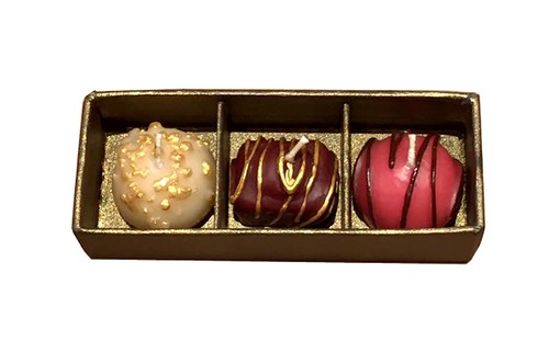 Chocolate BonBon/Set of 3