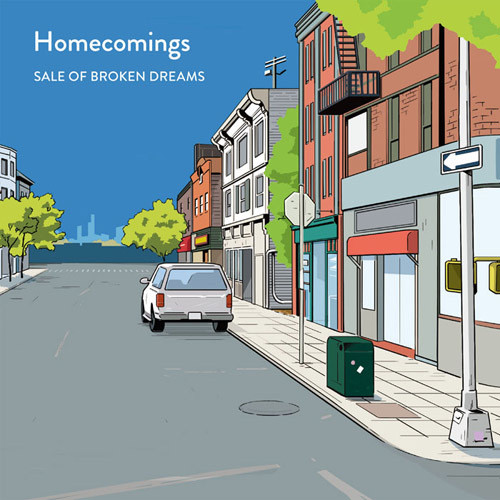(2LP)Homecomings 「SALE OF BROKEN DREAMS」