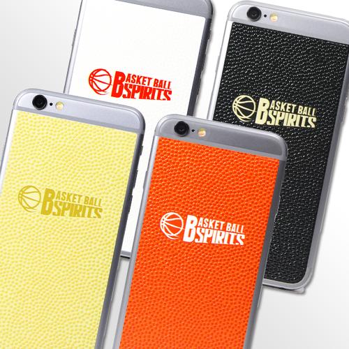 バスケットボールスピリッツ iPhone(6/6S)用背面デザインシール(BBS Logo mark)