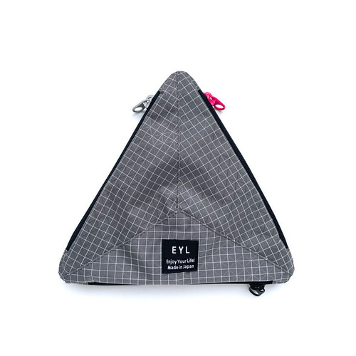 EYL / MEDIUM POUCH(GRAY)
