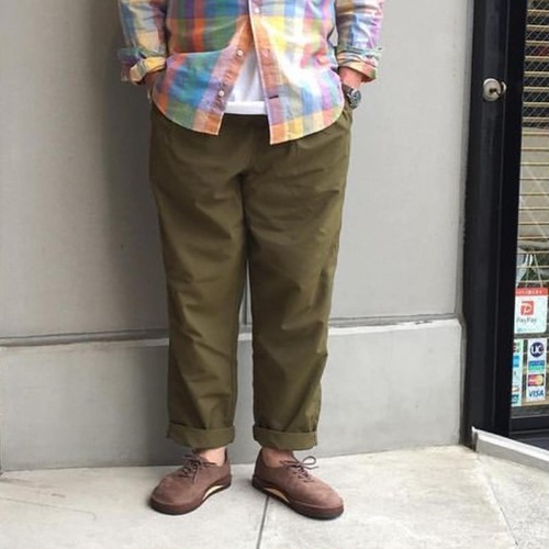 Burlap Outfitter / Track Pants Military Color