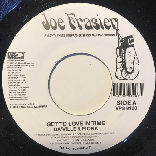 Da'ville & Fiona - Get To Love In Time【7-10836】