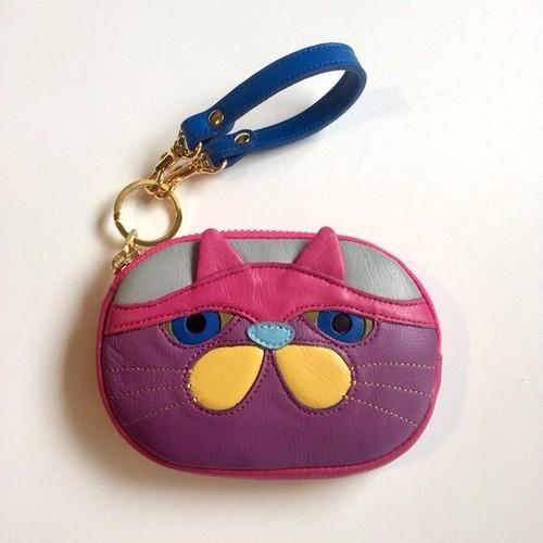 とてもブサイクなネコのマメポ【悪ピンク】