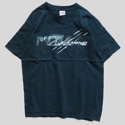 00年代 X-MEN 2 映画 Tシャツ 【M】 | エックスメン マーベル アメコミ アメリカ ヴィンテージ 古着