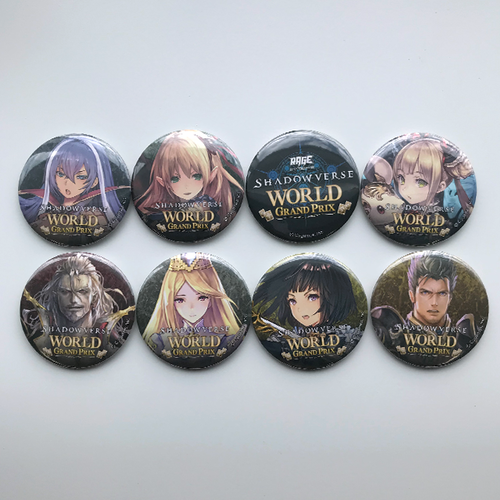 RAGE Shadowverse World Grand Prix限定缶バッジセット