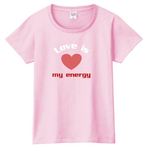 送料無料!【ピンク・白】ママLove Tシャツ(哺乳瓶シリーズ)