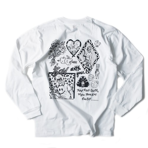 COOKIEBOY ILLUSTRATION LONG-SLEEVE SHIRT