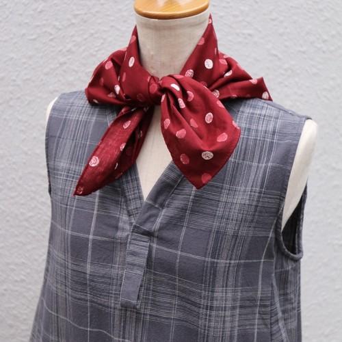 susuri/ススリ フィギュールスカーフ RED#19-902