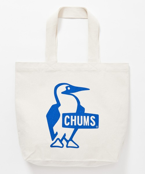 CHUMS (チャムス) Booby Canvas Tote (ブービーキャンバストート) Blue(ブルー)