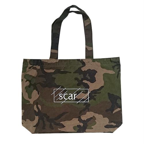 scar /////// OG LOGO LARGE TOTE BAG (Camo)