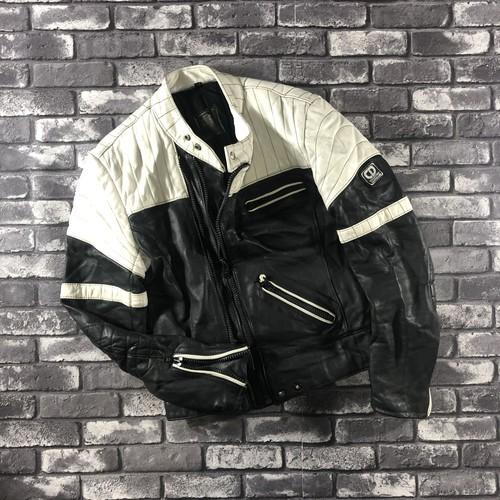 2-Tone Double Zip Riders Jacket