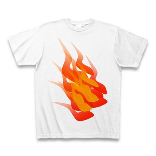 燃焼Tシャツ ホワイト