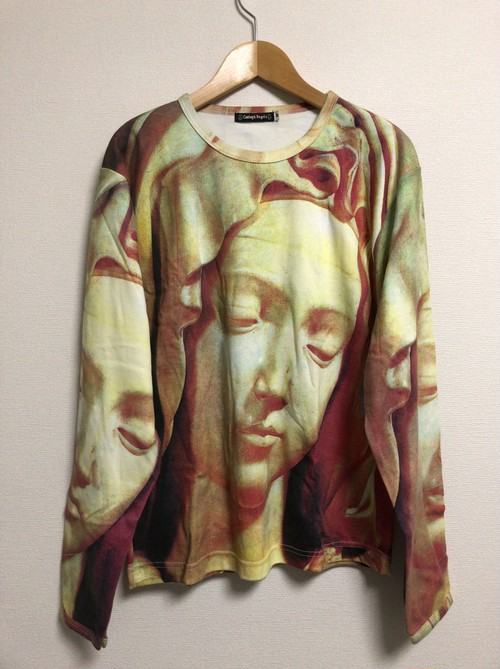 2010's Virgin Mary statue L/S T's