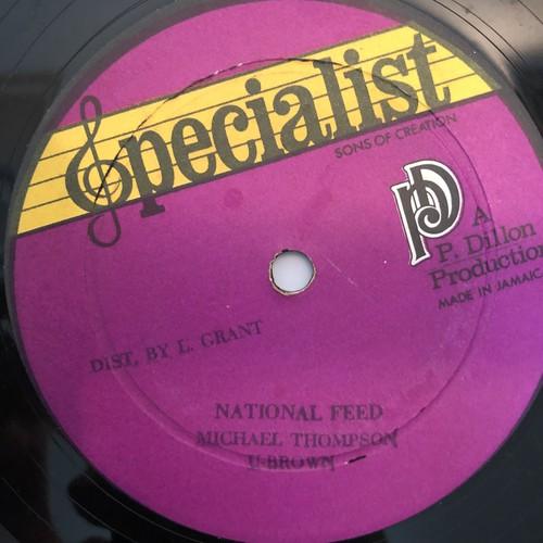Michael Thompson & U Brown - National Feed【12-50002】
